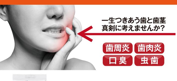 一生つきあう歯と歯ぐき、真剣に考えませんか?歯周炎・歯肉炎・口臭・虫歯